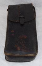 Porte-chargeurs en cuir noir PM MAT 49 Gendarmerie/Armée de l'air française Indochine/Algérie