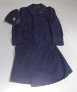 Manteau + casquette d'un Sapeur-Pompier du CEA (Commissariat à l'Energie Atomique) français