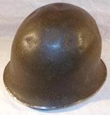 Coque de casque modèle 51 1er type datée 1952 armée française Indochine/Algérie