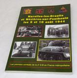 Livre Marolles-les-Braults et Mézières-sur-Ponthouin les 9 et 10 août 1944, Guy Hervé