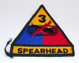 Insigne 3rd Armored Division Spearhead armée US