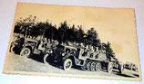 Photo Krauss-Maffei SDKFZ 7 KM8 transport de troupe et pièce d'artillerie allemande WW2