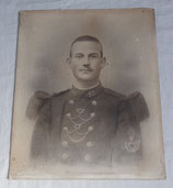 Portrait soldat 10ème Régiment d'Infanterie RI avec prix de tir français WW1