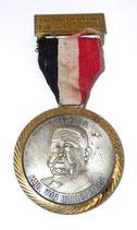 Médaille randonnée hivernale Altenwald-Schnappach Paul von Hindenburg 1847-1934 allemande