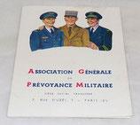 Flyer Association Générale de Prévoyance Militaire 1955 armée française