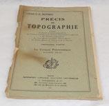Manuel Précis de topographie, Troisième partie, Le croquis panoramique 1945 français WW2