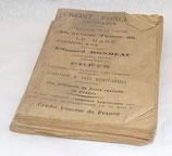 Le grand almanach manceau pour l'année 1918 français WW1
