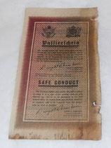Tract US/GB-ZG 90-1944 Safe Conduct incitant les soldats allemands à se rendre US WW2