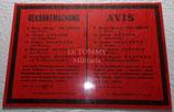 Grande affiche Avis de condamnations à mort Paris allemande WW2