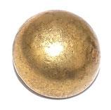 Bouton petit module 15mm doré demi-boule armée française