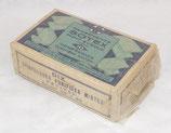 Paquet de 10 compresses purifiées mixtes petites d'origine civile (Pansements Sotex) français WW2
