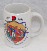 Chope à bière commémorative 1789-1989 Bicentenaire de la Révolution Française
