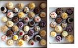 50 süße Mini-Cupcakes