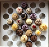 20 süße Mini-Cupcakes