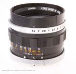 Canon Lens FL 50mm 1:1,4