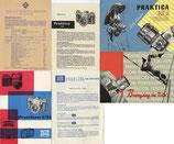 Interessantes Pentacon, KW, Praktina, Praktica Penti Literaturlot!