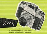 EXA II mit Schlitzverschluss...