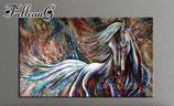 Kunstwerk met paard