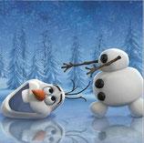 Olaf is zijn hoofd verloren