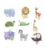 Dierentuindieren stickers