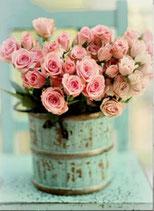 Emmer met rozen