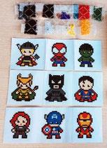 Superhelden stickers