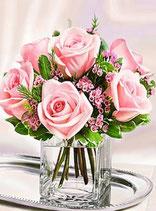 Vaasje rozen