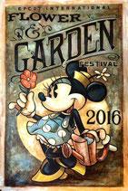 Garden bord minnie mouse