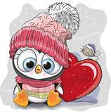 Pinguin met hart