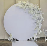Backdrop rond wit