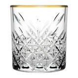 Waterglas gouden rand
