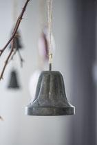 Metall Glocke groß-gerillt