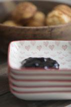 Teller mini Heart