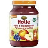 Apfel mit Heidelbeere _ Holle