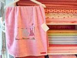 Kuscheliges Frottee Handtuch Wäscheleine