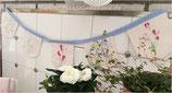 Wimpel Girlande Flower Spring