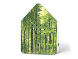 Zwitscherbox Motiv-Druck Wald