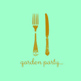 "PAVIOT Papierservietten ""Garden Party"" 40x40cm"