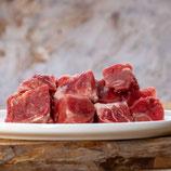 Ziegenmuskelfleisch, durchwachsen