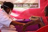 Lepra-Wundbehandlung