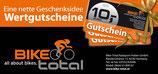 Bike Total Geschenkgutschein