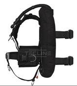 Donut 17 mit DIR-Harness, integriertem Mono-Adapter und Bleitaschen