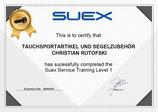 Suex Revison Service Level 1 für alle Suex Modelle