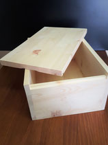 Zirben Brotbox Größe: 35 x 25 x 16 cm
