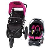 Carreola con Silla Para Auto Portable Baby Trend Stealth Jogger Viola TJ30613