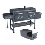 Gas y Carbon Ahumador Smoke Hollow Gas-Charcoal Smoker Grill 47180T (Descontinuado)