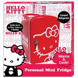 Mini Refrigerador Personal Hello Kittie 76009-TA