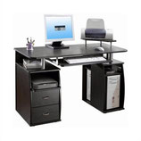 Escritorio para computadora TECHNI MOBILI Atua Wood Espresso RTA-8211-ES18