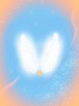 """Engels-Energiekarte """"In den Armen der Engel"""""""