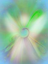 """Engels-Energiekarte """"Der Engel der Freude und Leichtigkeit"""""""
